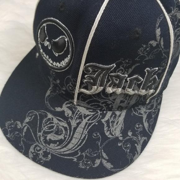 aa11e96d Disney Accessories | Land Jack Skellington Adult Black Hat | Poshmark